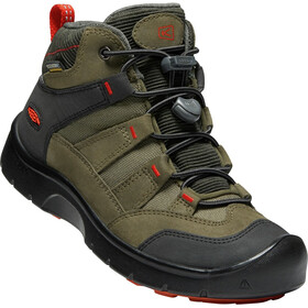Keen Hikeport WP Mid Shoes Kids martini olive/pure